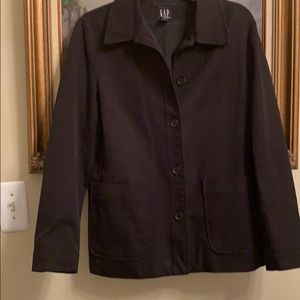 Gap Black Lined Jacket 6